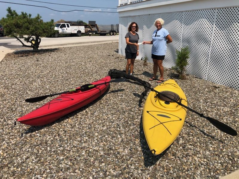 Kayaks For South Jersey Cancer Fund